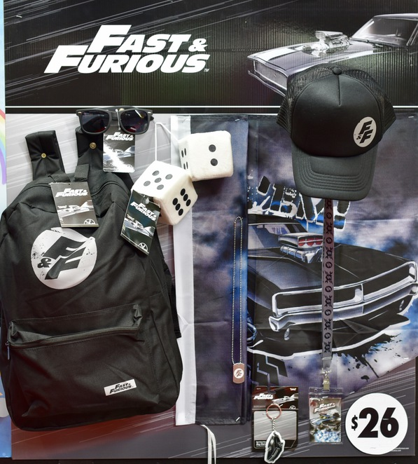 Fast & The Furious Showbag, Fast & the Furious, Easter Show, Showbags, Sydney Royal Easter Show, adult showbag