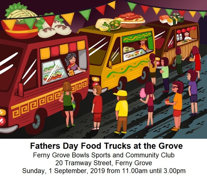 Fathers Day, Food Trucks, Ferny Grove, family, entertainment, kid friendly, activities,