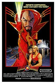 flash gordon, film, movie, poster