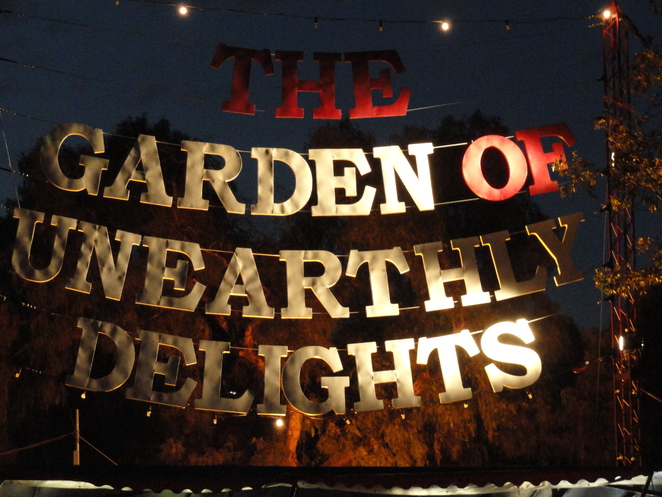 Garden of Unearthly Delights Adelaide Fringe The Late Show Umbilical Brothers Limbo Chris Taylor and Andrew Hansen-A One Man Show We Should Quit show The Last Lunch-Wizard Sandwiches comedy circus theatre slapstick acrobatics mime stunts illusions Paradiso Spiegeltent