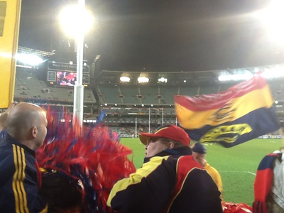 Go the Adelaide Crows!