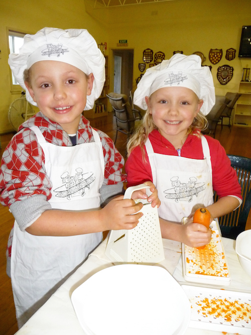 Gourmet Kids Mothers Day Promotion Melbourne - Childrens cooking birthday parties melbourne