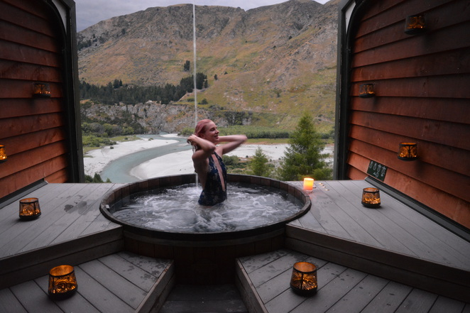 hot pools, onset, swim, relax, romance, Queenstown