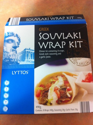 Greek Souvlaki Wrap Kit