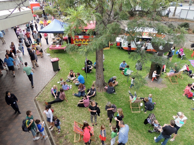 in adelaide, asylum seekers, fork on the road, about adelaide, food truck, food in adelaide, festival centre