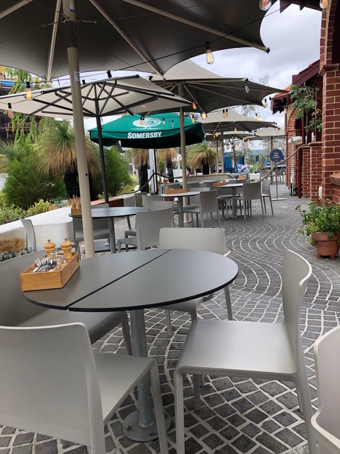 Isle of Voyage, Elizabeth Quay, Elizabeth Quay Island, Elizabeth Quay Restaurants, Elizabeth Quay Cafes, Cafes with playgrounds Perth CBD, child-friendly coffee Perth CBD