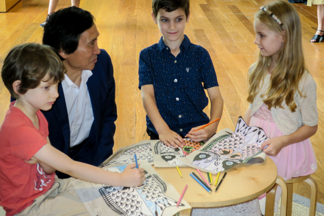 ite wishes project, kites, Li Cunxin, May Cross MoB