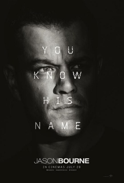 Jason Bourne, movies coming soon Australia