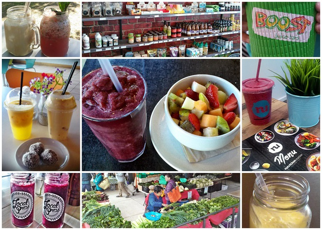 juices, smoothies, canberra, healthy, ACT, juice bars, healthy cafes, vitamins,