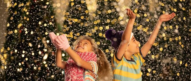 let it snow, westfield marion, white Christmas, pop-up valet, Michelin man, christmas