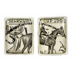 lord coconut melbourne cup cufflinks