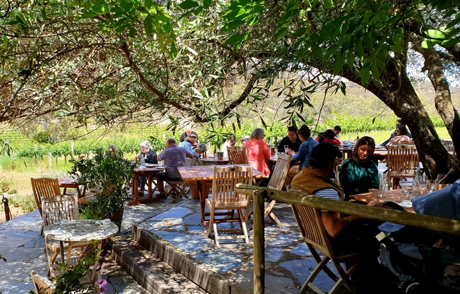 Lunch, restaurant, Winery, Clare Valley, South Australia, al fresco, nature, outdoors, views