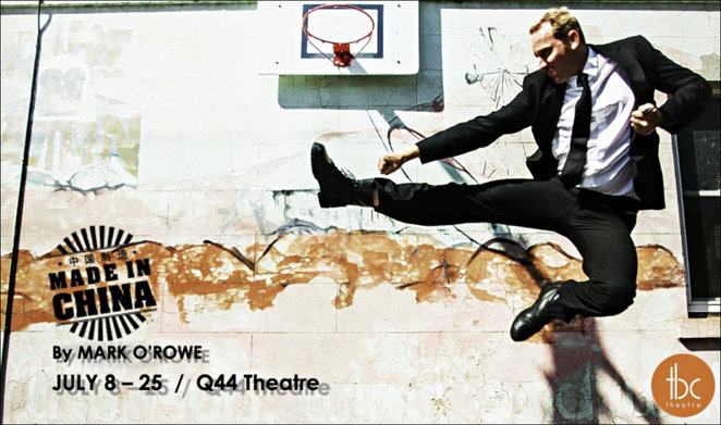 made in china, tbc theatre, review, performing arts, play, acting, actors, Q44 theatre, hughie's apartment, irish black comedy, mark o'rowe, fleur murphy, myles tankle, vaughn rae, damien harrison, stuart jeanfield