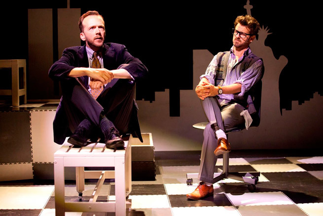 Falsettos at Chapel off Chapel - Review