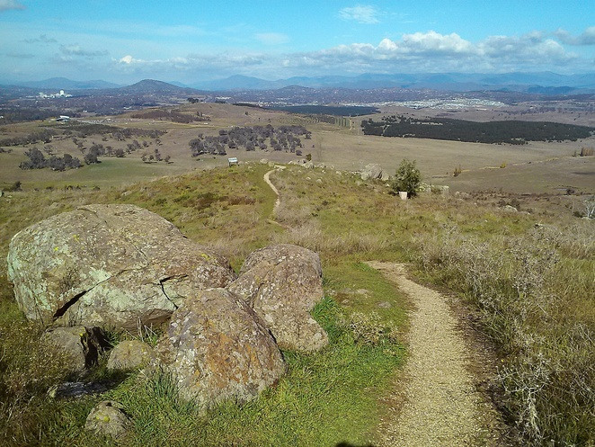 mount painter, canberra, bushwalks, short walks, ACT, hikes, views, hills, canberra nature park,