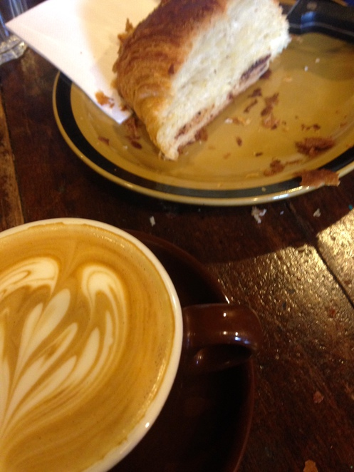 mrs s cafe coffee croissant highgate