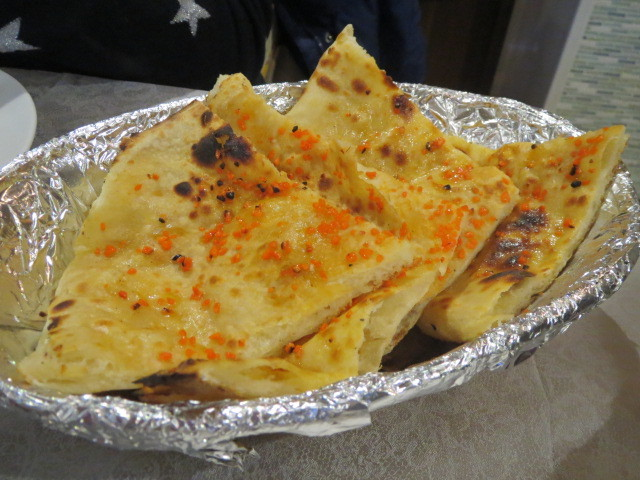 Mumbai Junction, Garlic Naan, Adelaide