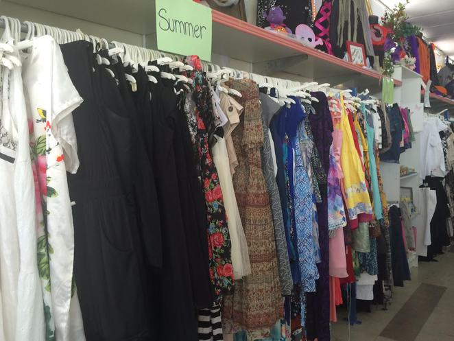 Op Shop, Aid for the blind, second hand clothing, annerley,