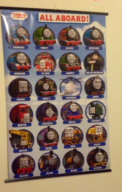 Party, Thomas the Tank Engine, fun, poster, kids, TV shows