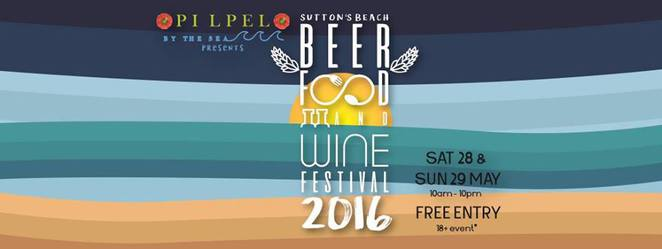 Pilpel, Suttons Beach, The Sutton's Beach Beer, Food and Wine Festival 2016, Food, wine,