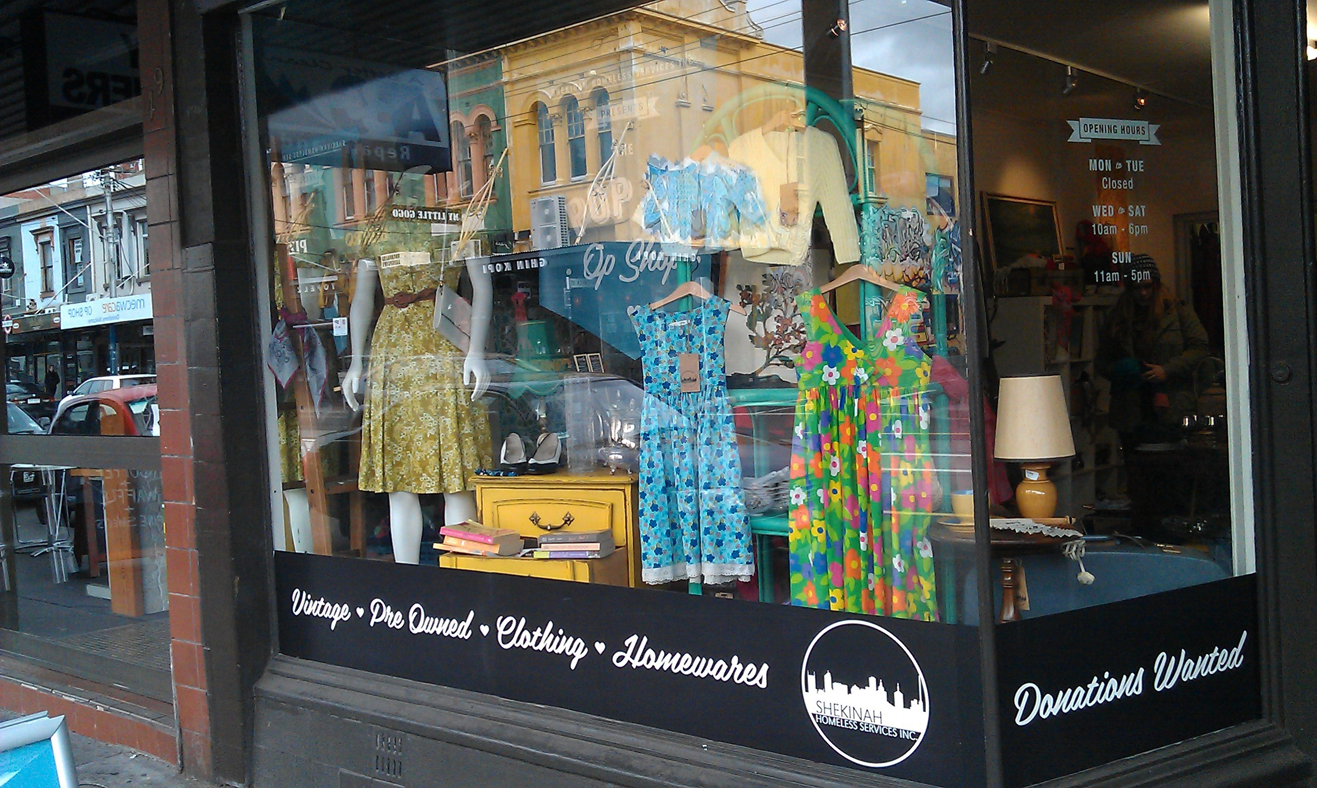 Chapel street clothing stores