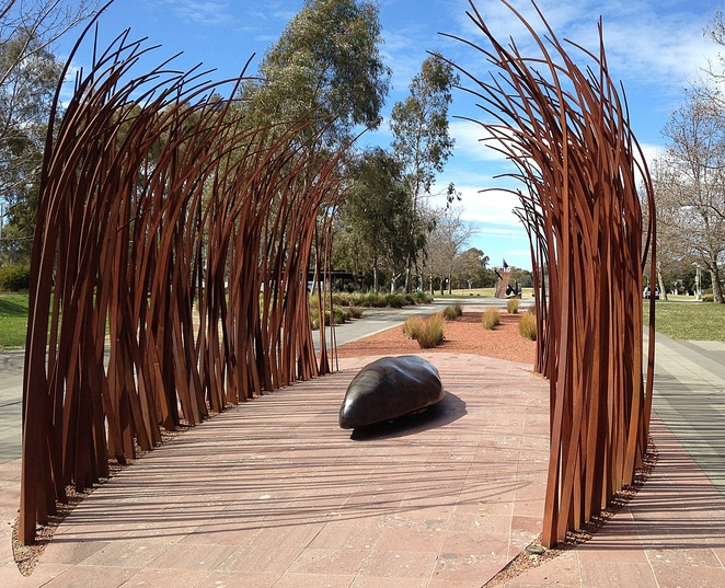 reconciliation place, canberra, ACT, tours, free, self guided tours, national capital authority, national attractions, indigenous, walking tours around canberra,