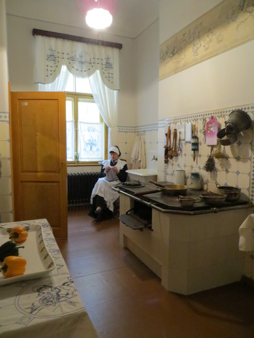 riga, art nouveau, kitchen