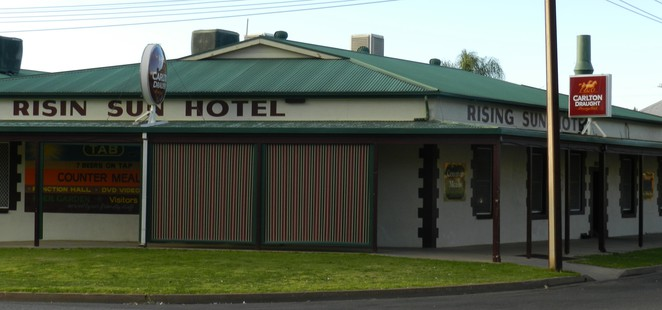 Rising Sun Hotel, Broken Hill, Outback, Funny Sign