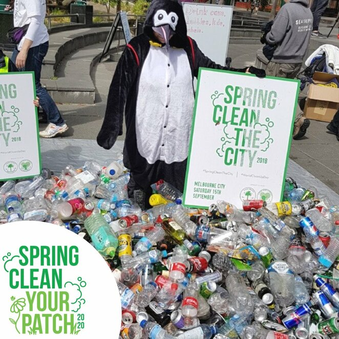 spring clean your patch 2020, community event, fun things to do, environmental, sustainable, waste reduction, ban single use plastic, take care of wildlife and environment, clean up your local parks, clean the beaches, clean the neighbourhood, awareness about waste