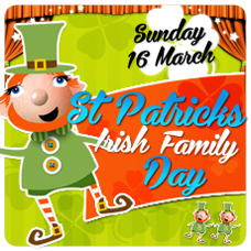 St Patricks day for kids, melbourne, wonderland