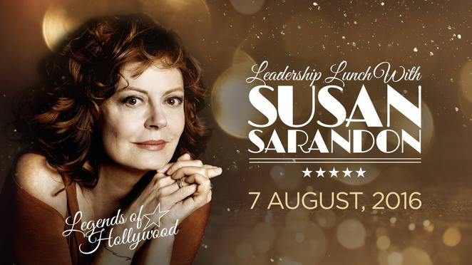 susan sarandon, breaking barriers, crown palladium, la dolce italia, intimate luncheon, bully zero foundation, lunch with a celebrity, up close and personal with susan sarandon, celebrity event