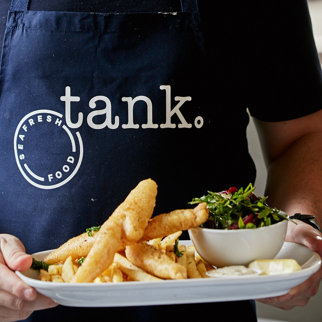 tank fish chips, fish and chips, melbourne, carlton, good friday