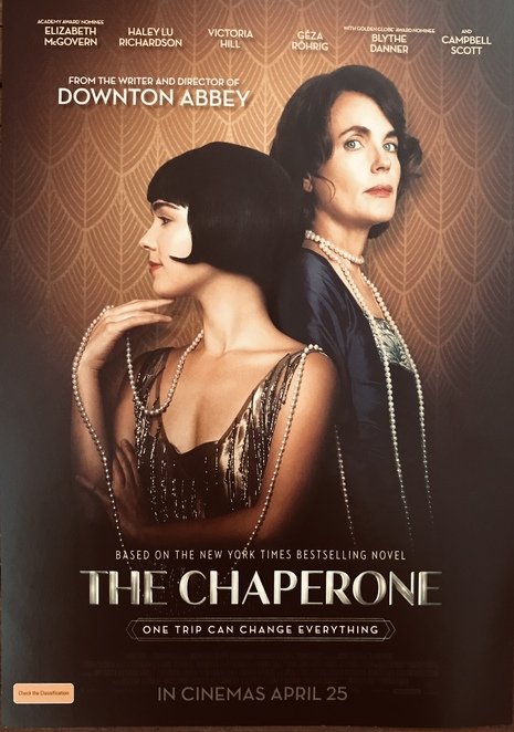 the chaperone movie Elizabeth McGovern