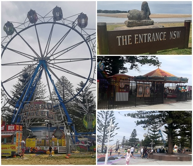 The Entrance Hotel, the entrance, pubs, family friendly, carousel, Ferris wheel, kids, pelicans,