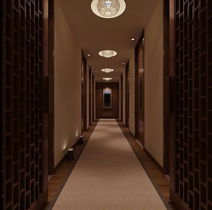 The hallway to bliss