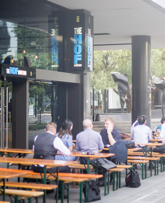 The Hof Downtown Bavarian Restaurant at Docklands