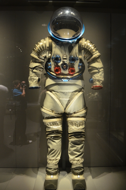 The Kennedy Space Center Visitor Experience, Astronaut Suit, Rocket, Space, Apollo/Saturn V Centre