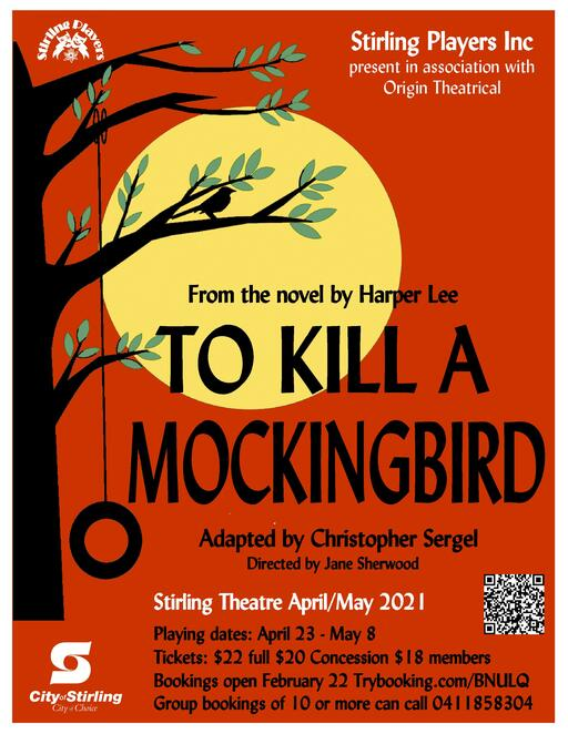 To Kill A Mockingbird, Stirling Theatre, Atticus Finch, Harper Lee, play, performing arts, stage, acting, Scout, Jem