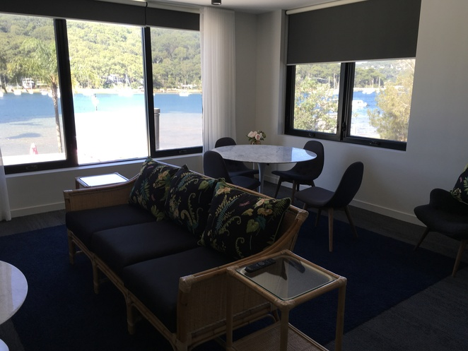 Two bedroom apartment for rent at the Pasadena Restaurant Church Point Great food water views holidays conferences weddings