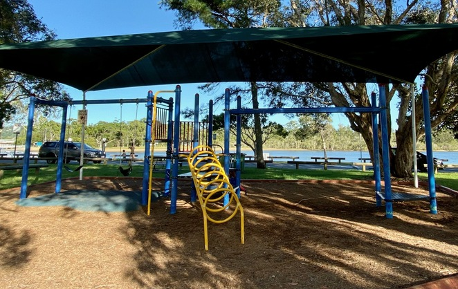 An adventure playground at Winders Park