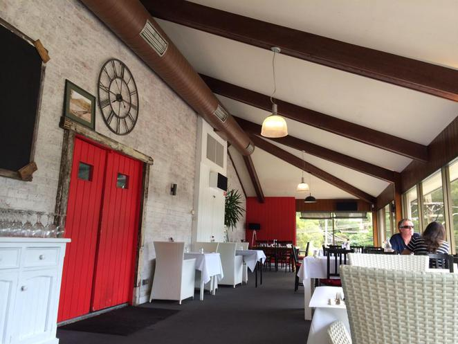woronora, the bridge, restaurant, the shire, river, red, kitchen, door, interior