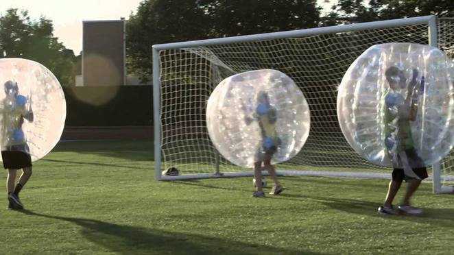 zorb, free, competition, melbourne