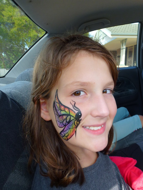 Victoria's beautiful butterfly