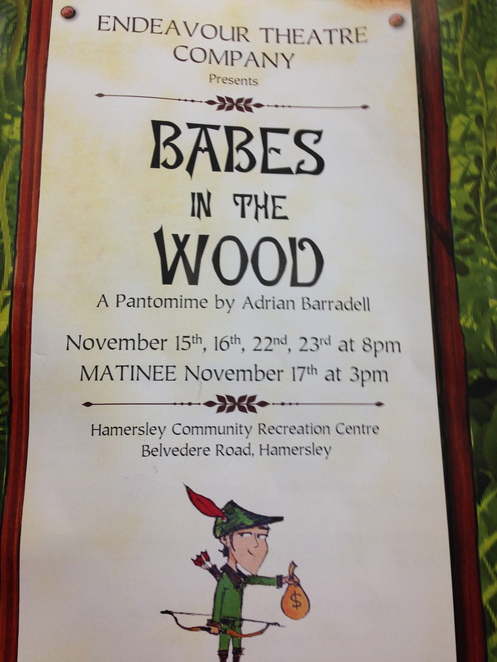 Babes in the Wood, Endeavour Theatre Company