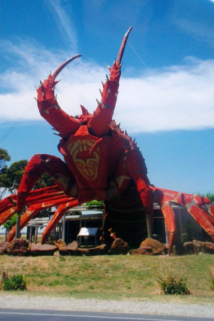big lobster, larry, kingston south east, south australia, big things