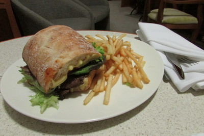 Brisbane Epicurean steak sandwich