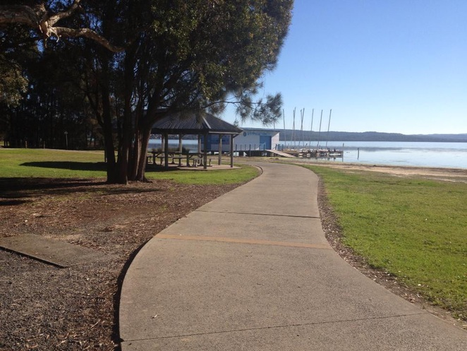 Central Coast , long jetty, cycling,child friendly