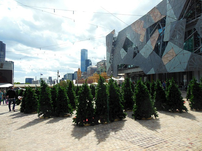 christmas at fed square