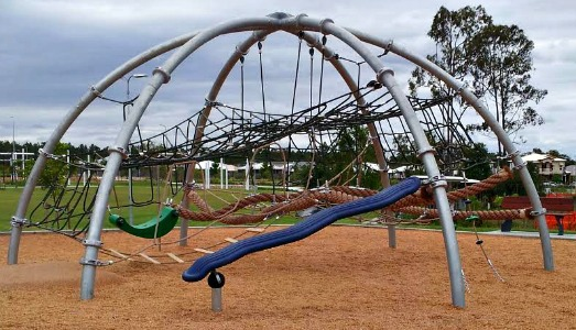 darlington parklands yarrabilba playground climbing dome