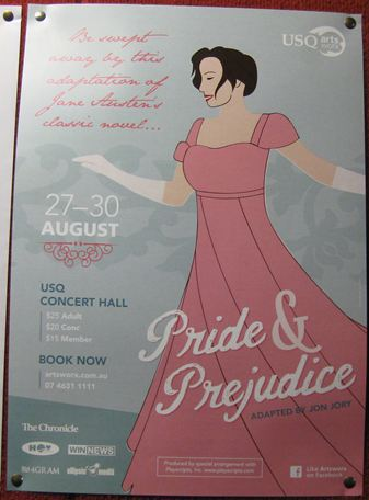 Day with Jane Austen Pride & Prejudice Adaptation Stage